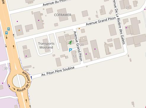 Image au format PNG réactualisée avec les noms des rues